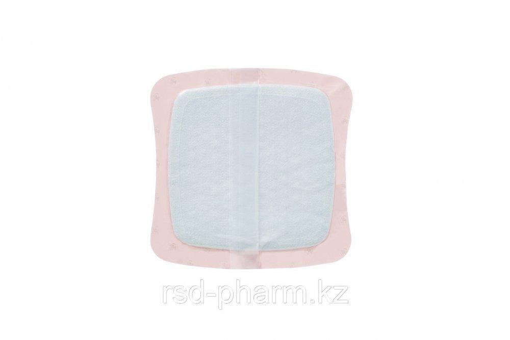Аквасель Фоум с силиконовым адгезивом (Aquacel Foam, adh) 21*21