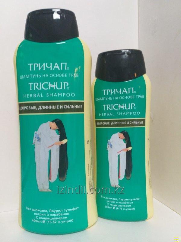 Тричап шампунь - Здоровые, длинные и сильные (Trichup Shampoo Healthy, Long & Strong VASU), 200 мл