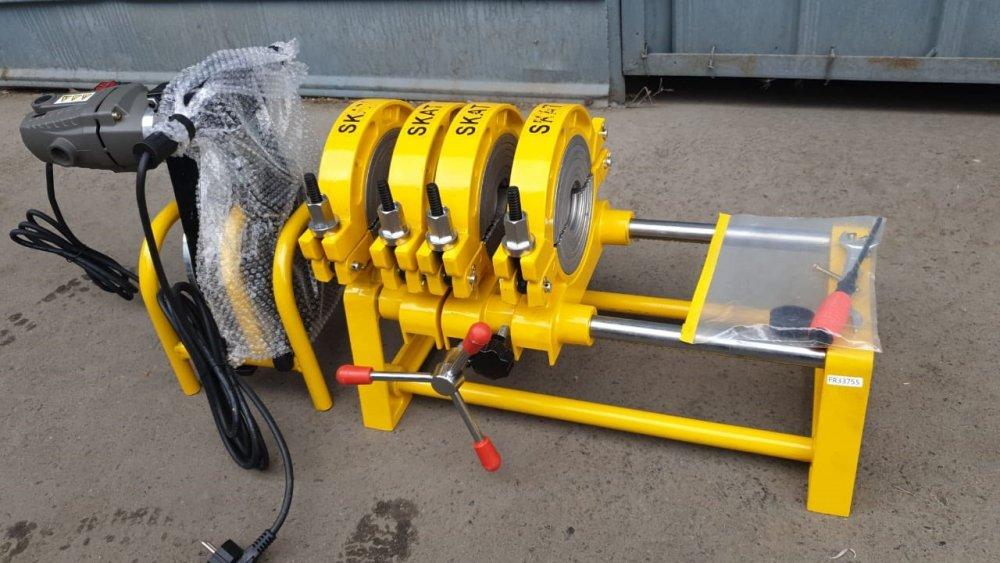 Купить SKAT 63-160мм с 4мя держателями, механический сварочный аппарат для стыковой пайки ПП труб