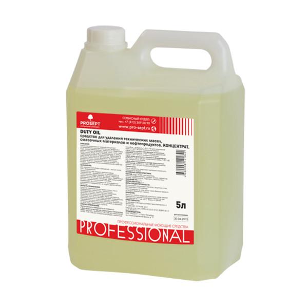 Средство для удаления технических масел и нефтепродуктов 125-5 Duty Oil(Дьюти Оил) Концентрат 1:20