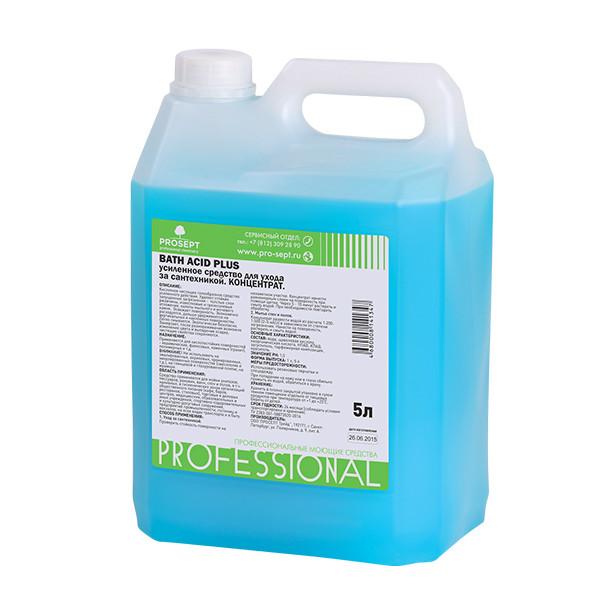 Для удаления ржавчины и минеральных отложений 113-5 Bath Acid+(БАС АСИТ ПЛЮС) 5 л.