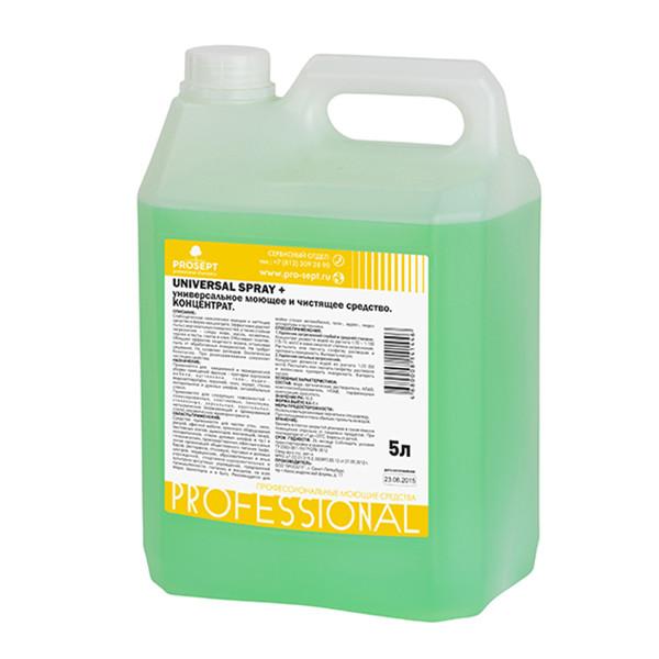 106-5 Universal Spray+(УНИВЕРСАЛ СПРЕЙ +) моющее и чистящее средство. Концентрат(1:20 - 1:100), 5л.