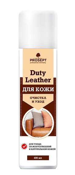 Duty Leather PROSEPT Аэрозоль для очищения и ухода за натуральной и искусственной кожей 400 мл.