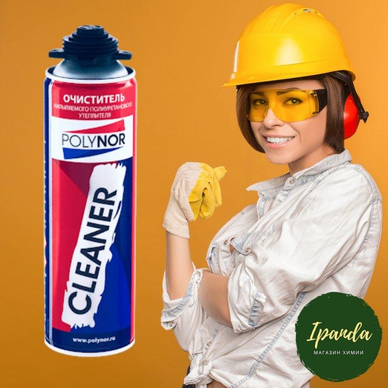 Очиститель пены универсальный POLYNOR CLEANER 500 мл