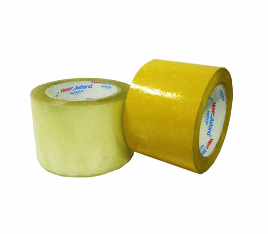 Buy Adhesive tape wide yellow