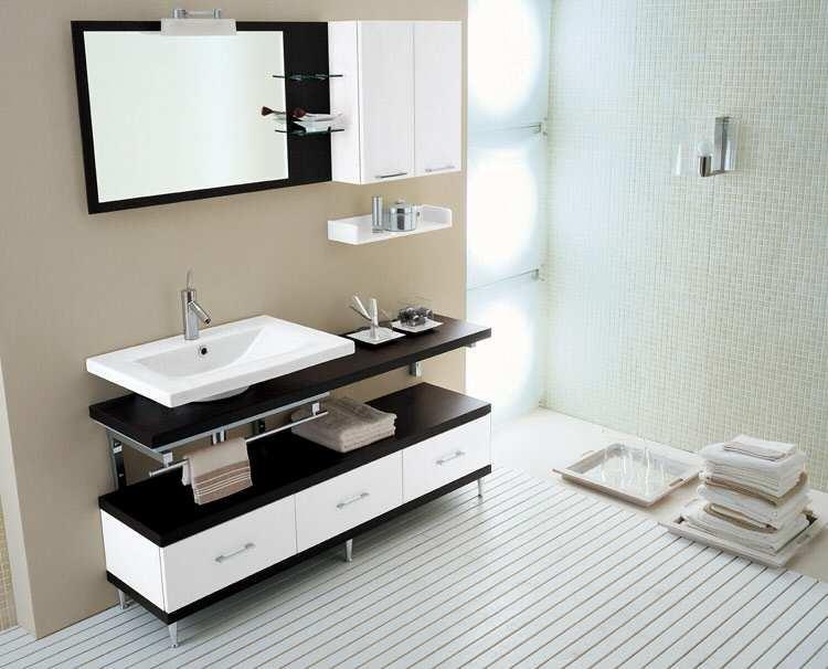 Мебель для ванной комнаты в Спб | Купить мебель в ванную | 606x750