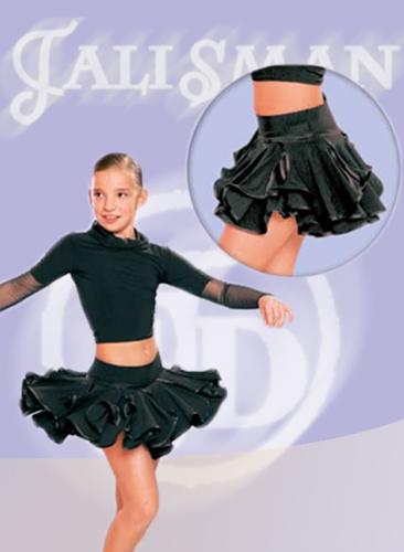 Детские юбки для бальных танцев