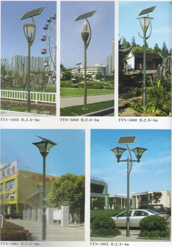 Купить Уличные фонари на солнечных батареях