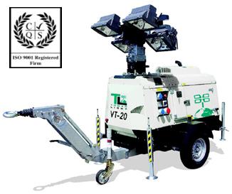 Осветительная мачта-генератор  Tower Light (Италия) Модель VT20