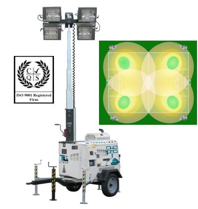 Осветительная мачта Tower Light (Италия) Модель VT 4