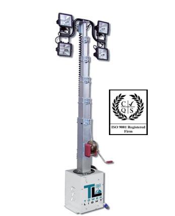 Осветительная мачта Tower Light (Италия) Модель CTF 5.3 м, Световая мачта, световая башня, оборудование световое