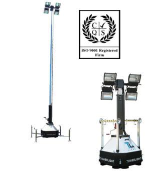 Осветительная мачта Tower Light, Италия, Модель CTF 10 м,  Оборудование осветительное, световая мачта