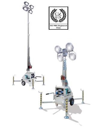 Осветительная мачта Tower Light  Италия, Модель LINKTOWER 7 м, Без генератора,  световая мачта, Оборудование осветительное