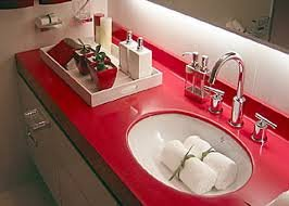 Buy Table-top from an artificial stone for a bathroom