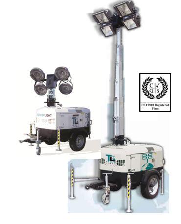 Купить Осветительная мачта TowerLight (Италия) Модель VB-9, Приборы осветительные, Световая мачта