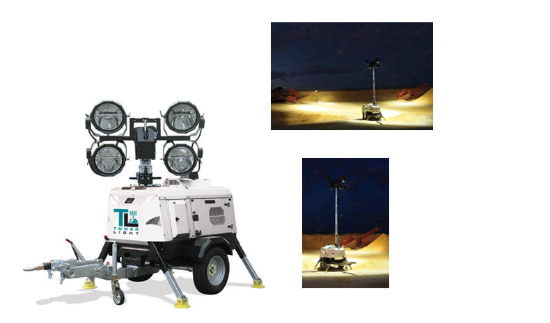 Купить Осветительная мачта Tower Light Италия, Модель VT 8000, Световое оборудование, световая мачта