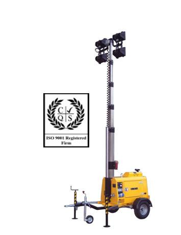 Купить Осветительная мачта Tower Light Италия Модель VT 2 7m, световая мачта, световое оборудование, стоики осветительные