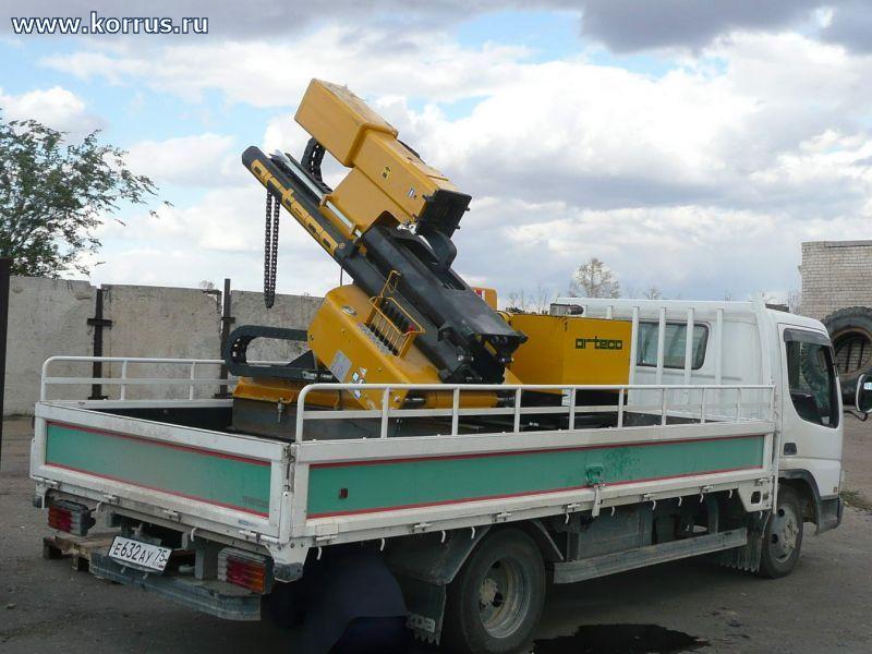 Навесная машина для монтажа ограждений ВТР 800 SMART, Сваебойное оборудование