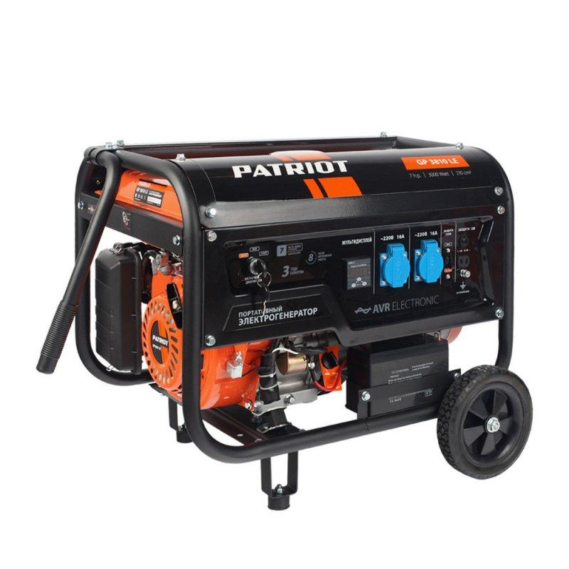 Купить PATRIOT Генератор бензиновый PATRIOT GP 3810LE