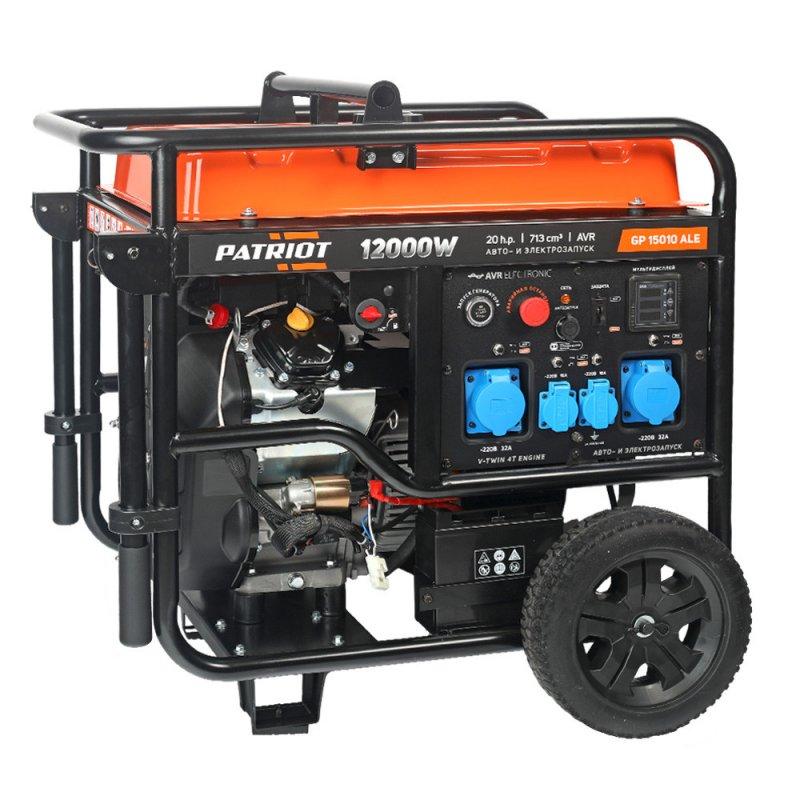 Купить PATRIOT Генератор бензиновый PATRIOT GP 15010ALE