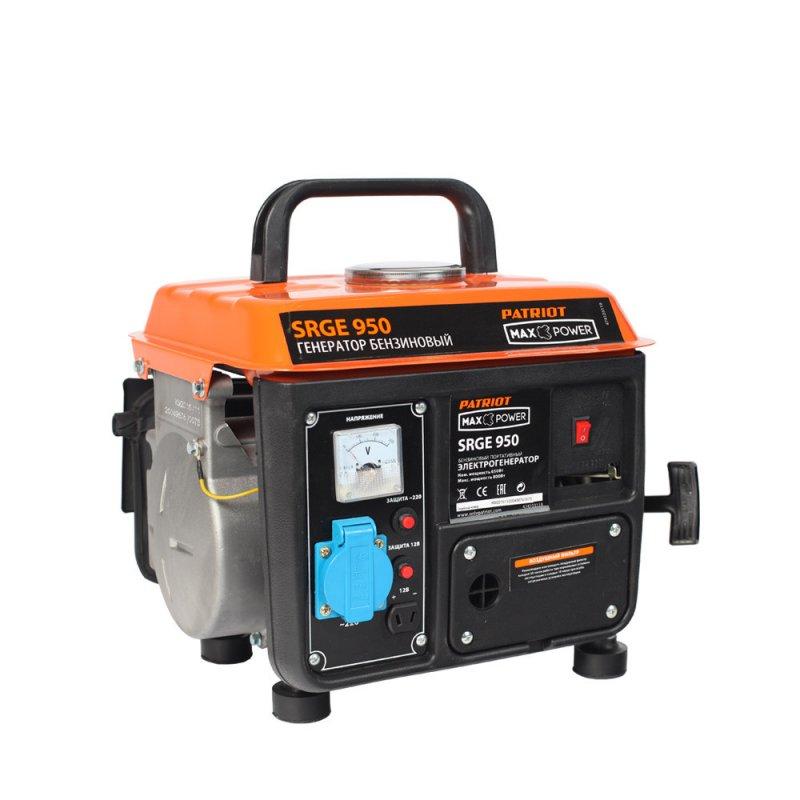 Купить PATRIOT Генератор бензиновый PATRIOT Max Power SRGE 950