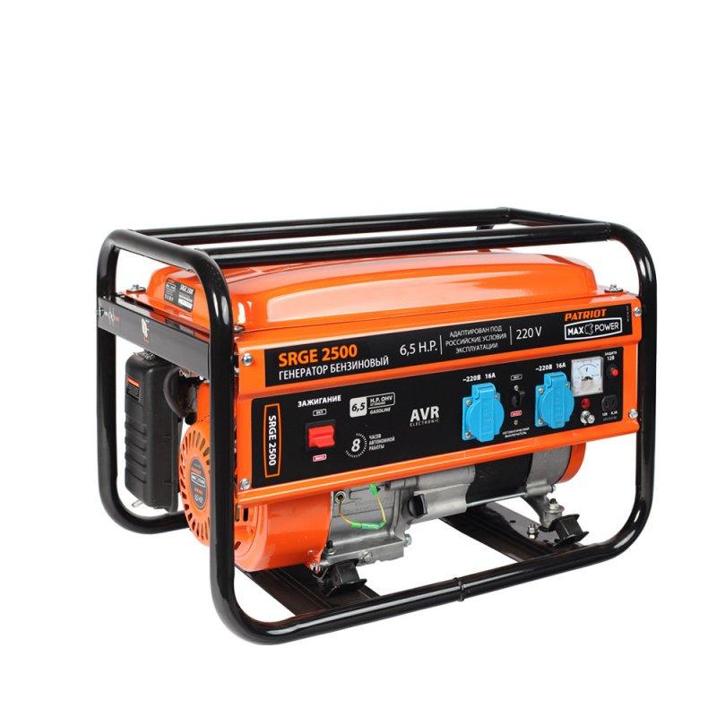 Купить PATRIOT Генератор бензиновый PATRIOT Max Power SRGE 2500