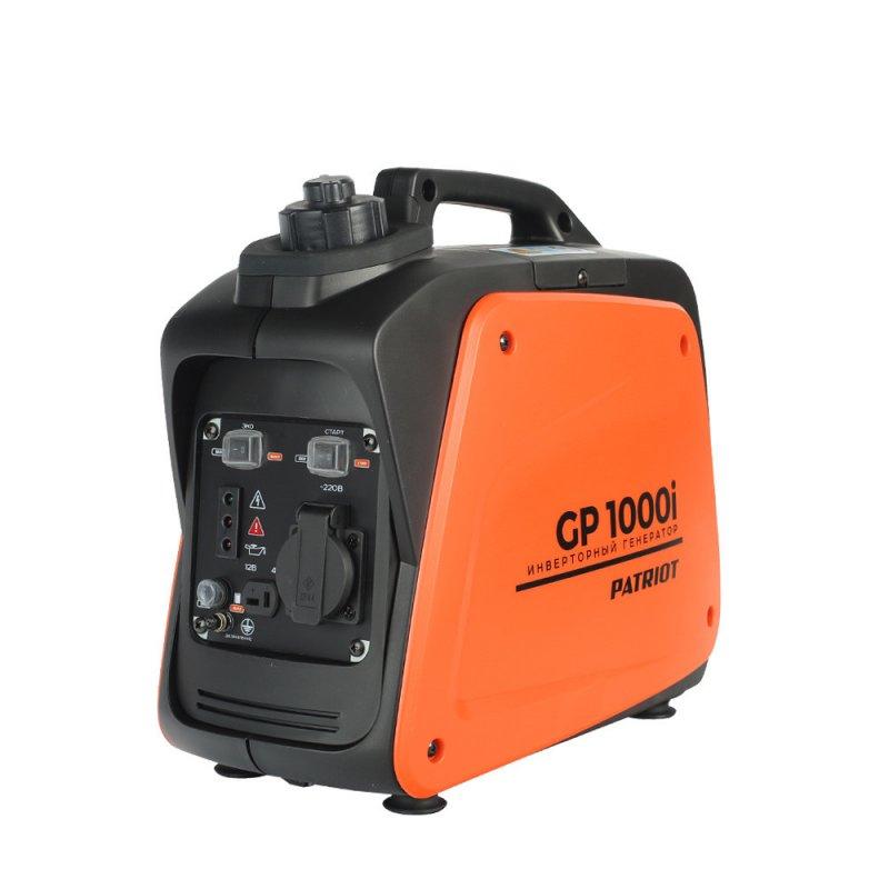 Купить PATRIOT Генератор инверторный PATRIOT 1000i, 0,7/0,9 кВт, уровень шума 58 dB, вес 8,5 кг