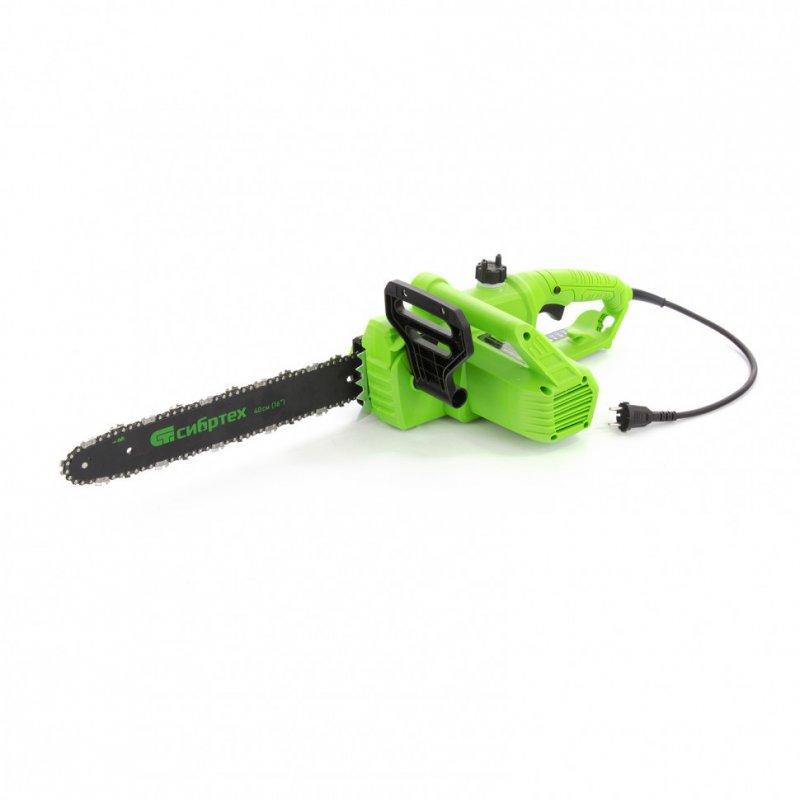 Купить Пила цепная электрическая ПЦЭ-2200П с поперечным двигателем, 2,2 кВт, 16'' (40 см) Сибртех