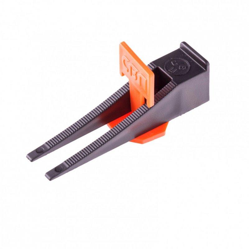 Купить Система выравнивания плитки СВП - комплект: зажим + клин 250/250 шт Сибртех