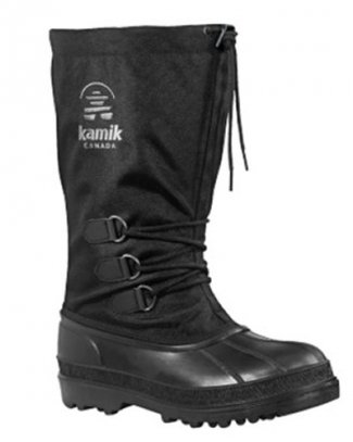 Buy CANUCK boots rubber nylon black, KAMIK Footwear