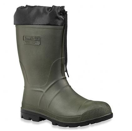 Buy HUNTER WITH NYLON COLLAR NAFTA boots are man's, the KAMIK Footwear