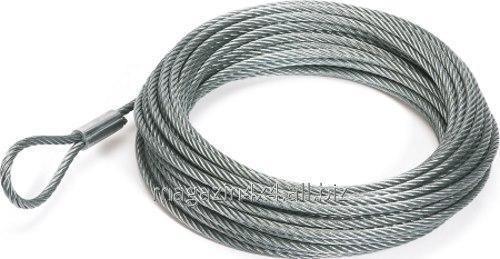 Купить Трос металлический для лебедки 9мм x 26м - T4