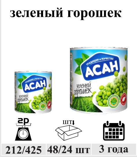 Зеленый горошек 212 гр.