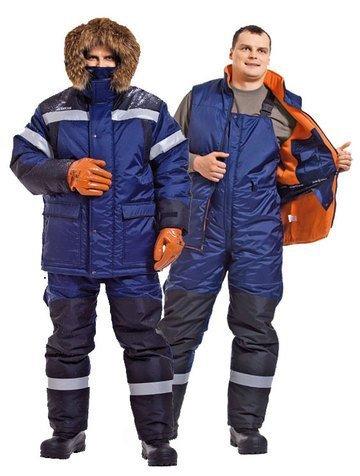 Купить Костюмы зимние (куртки и брюки), Зимняя спецодежда