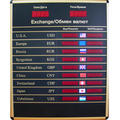 Buy Board of quotations of ES-2000 (9 lines), Board of currencies