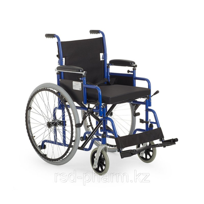 """КОЛЯСКА для инвалидов с подушкой для сиденья Армед H 040 (16- 20"""") литые/пневмо колеса"""