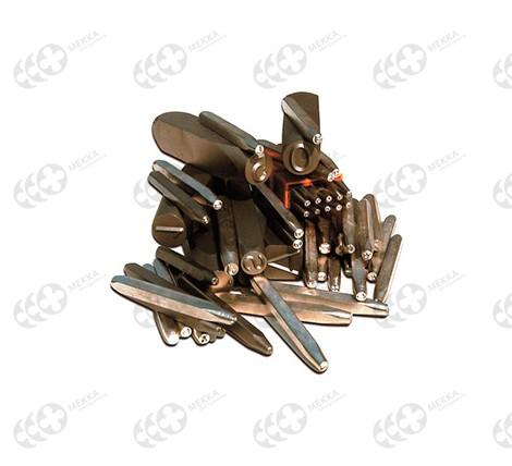 Купить Клейма буквенные латинские 6 мм стальные