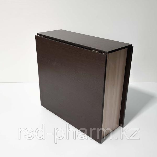 Стол-книжка (венге темный/шимо светлый)