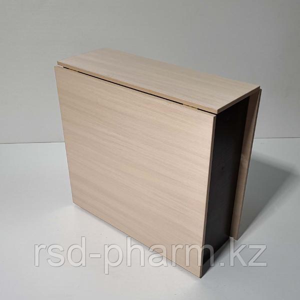Стол-книжка (шимо светлый - венге темный)
