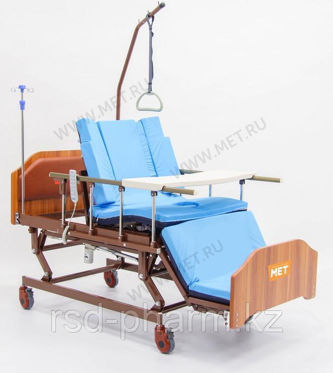 """МЕТ REALTA Кровать-кресло с """"ушками"""" - для сна в положении сидя, с регулировкой высоты, с переворотом и туалет"""