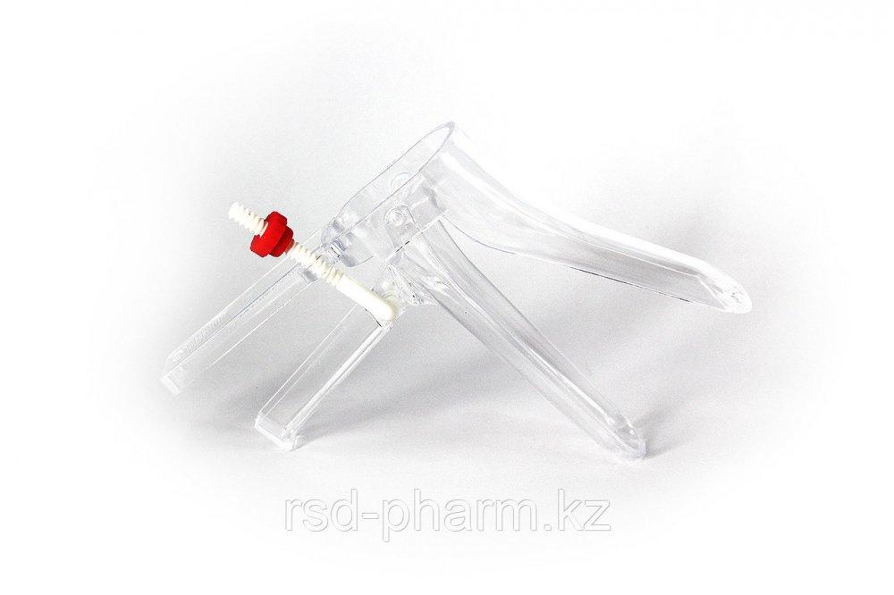 Зеркало гинекологическое Вiospec® Budget размер L одноразовое стерильное с фиксатором