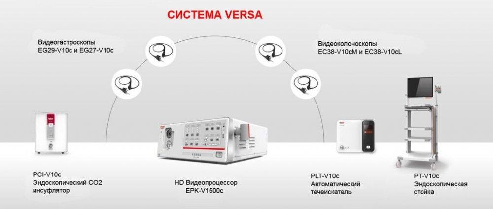 Видеоэндоскопическая система Pentax VERSA EPK-V1500c