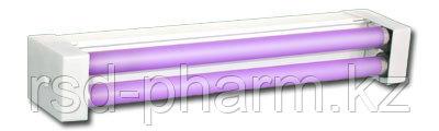 Облучатели бактерицидные настенно-потолочные ОБНП 2х15 с лампами