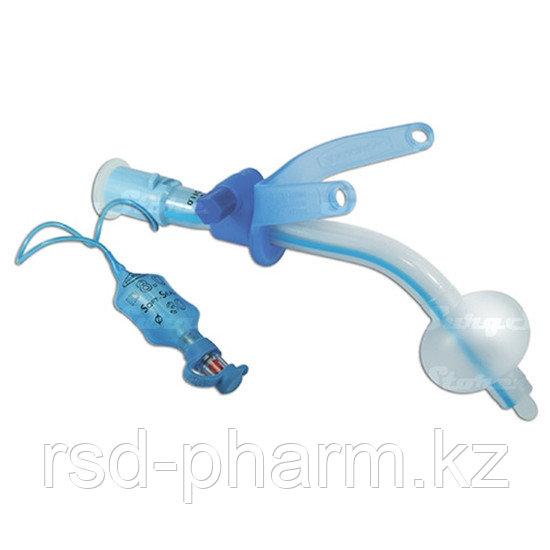 Трахеостомическая трубка с манжетой с регулируемым положением фланца трубки 6,0