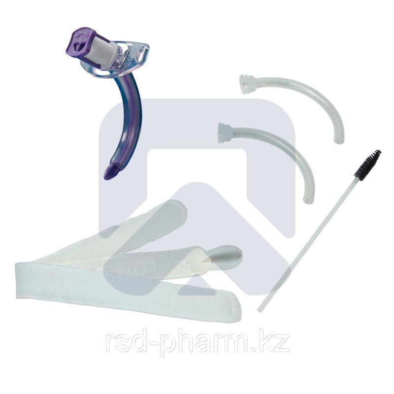 Трахеостомическая трубка Blue Line Ultra 10,0 мм без манжеты, в наборе с двумя внутренними канюлями