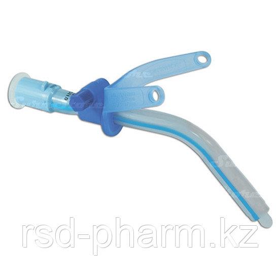 Трахеостомическая трубка без с манжеты с регулируемым положением фланца трубки 6,0