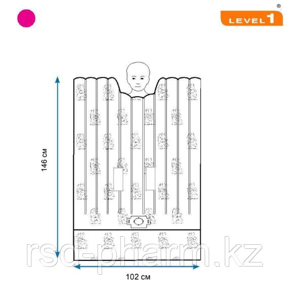 Одеяло Snuggle Warm, укрывное детское - 101.6 cm W x 146.1 cm L