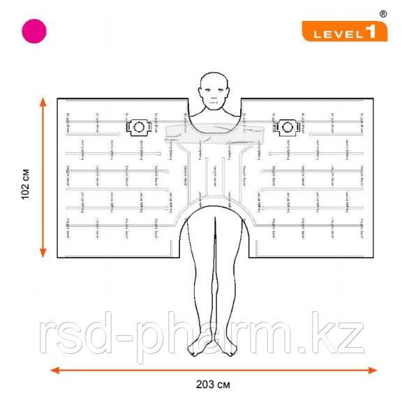 Одеяло Snuggle Warm, укрывное для взрослых, нестерильное, верхнее - 203.2 cm W x 101.6 cm L