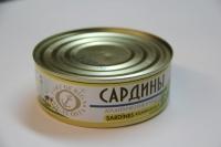 Купить Рыбные консервы Сардина 240гр