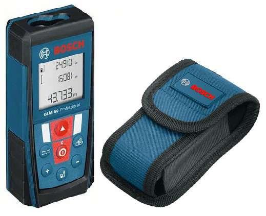 Купить Лазерный дальномер Bosch GLM 50 Диапаз. измерений от 0,05 до 50 м,